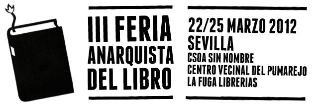 III Feria Anarquista del Libro de Sevilla